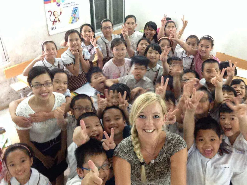English teacher abroad in Asia