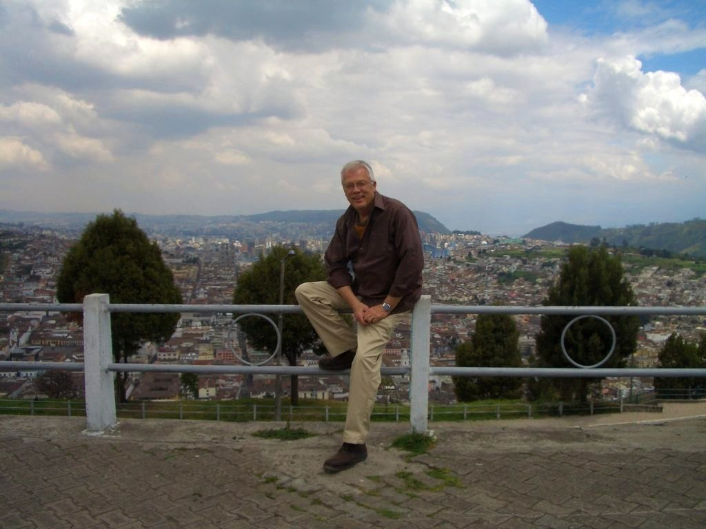 Wes, English teacher in Ecuador
