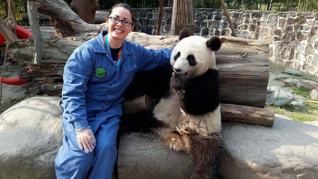 Carolina, NNEST teacher in China