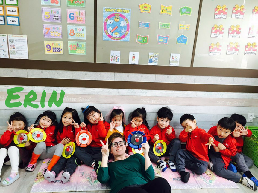 Erin, teacher in South Korea