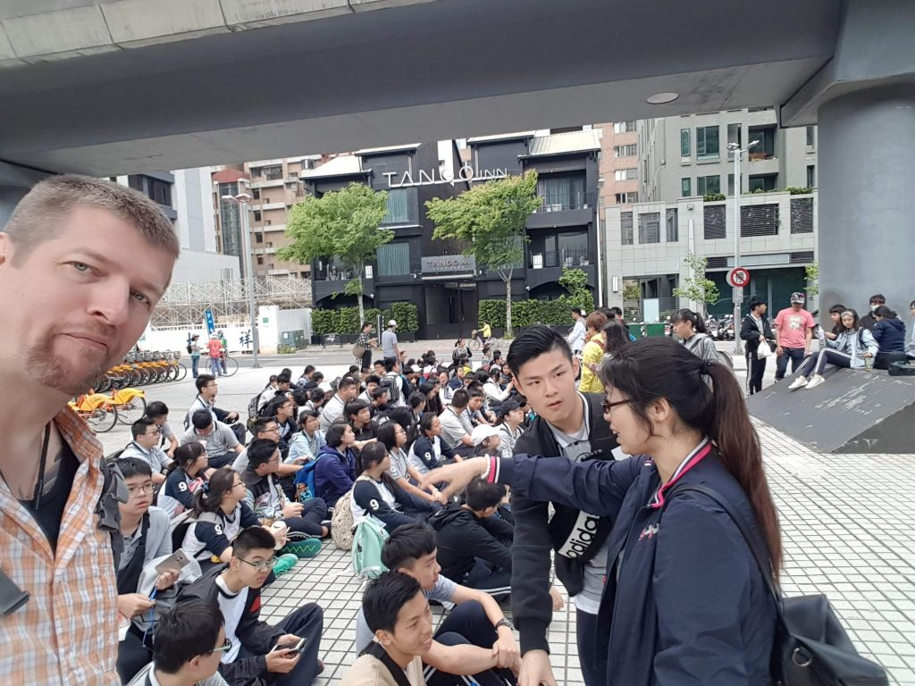 Richard, teacher in Taiwan