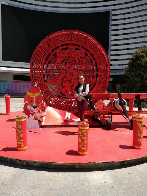 Alana in China