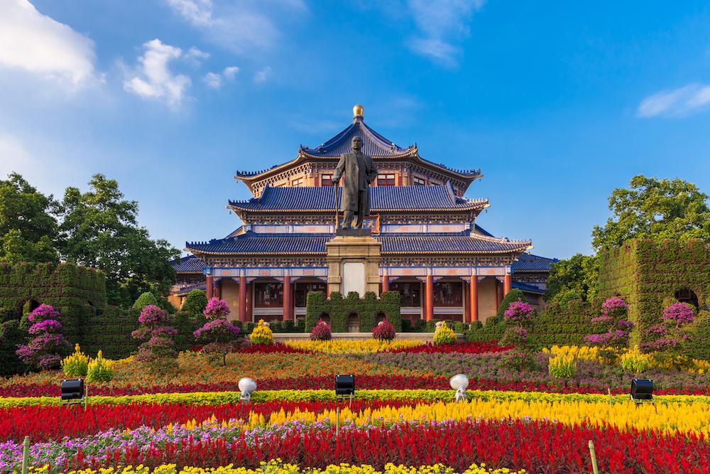 Sun Yat-Sen memorial hall Guangzhou, China