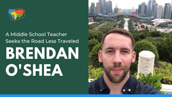 Brendan OShea, EFL teacher in China