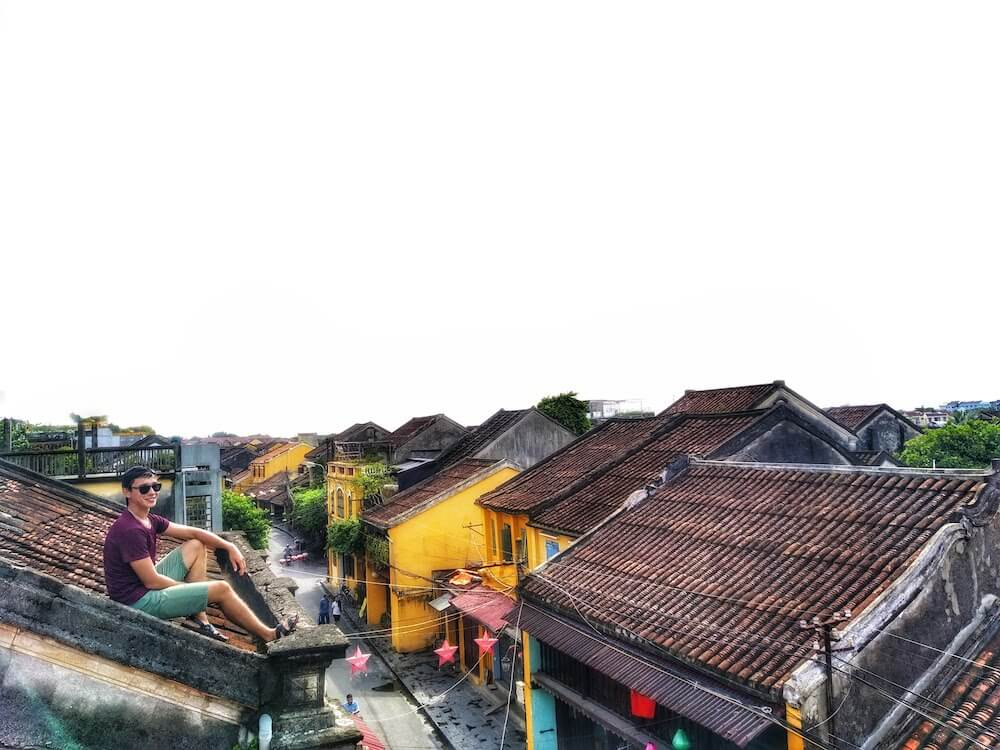 Bridge Grad Ruslan in Hoi An Ancient Town, Vietnam