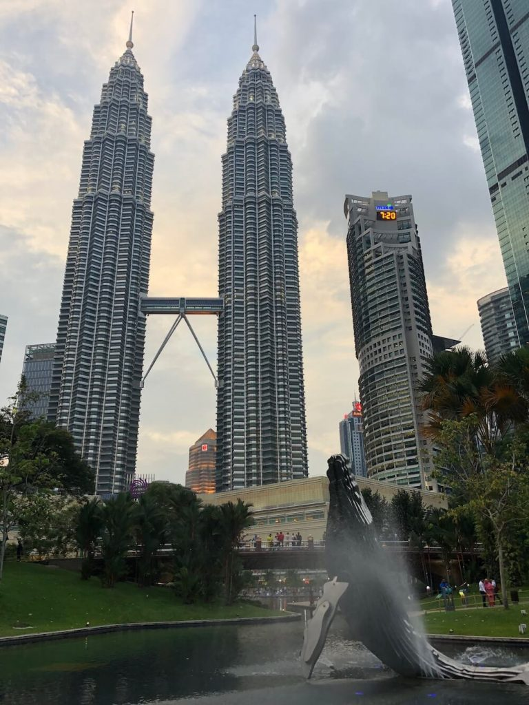 TEFL Destination Petronas Towers in Kuala Lumpur, Malaysia