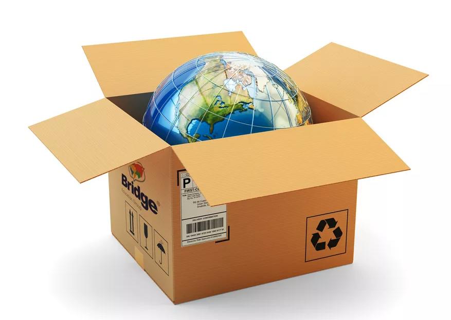 BridgeTEFL box with the world inside