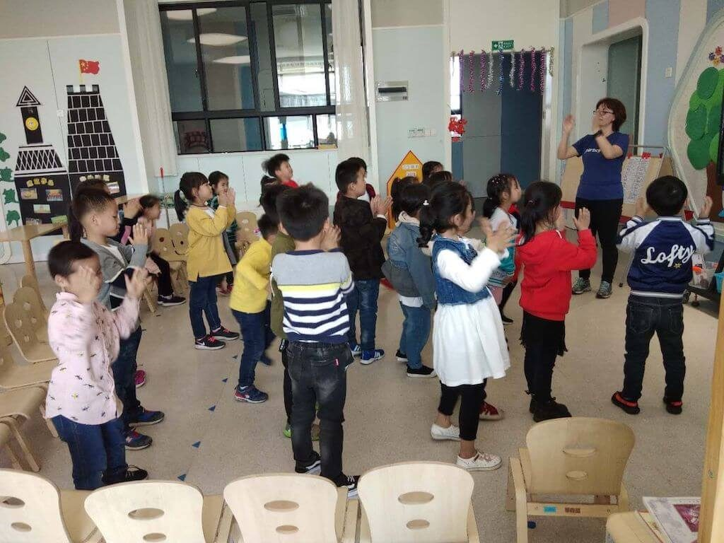 Carolina, Teaching Kids English in China