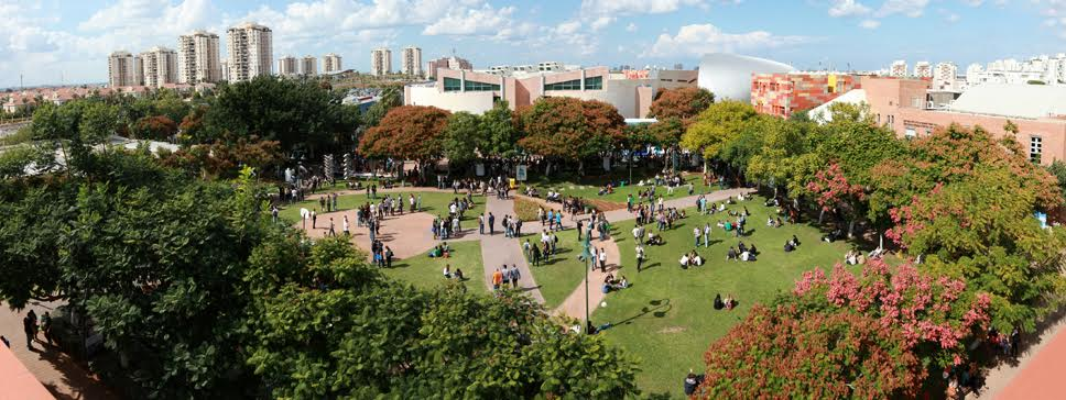 College campus in Israel, where English teacher Pavel works