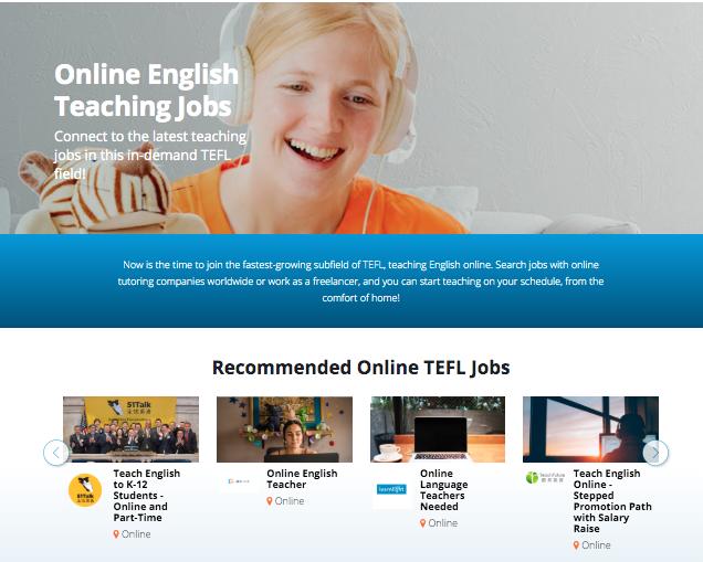 Bridge Job Board Teaching English Online