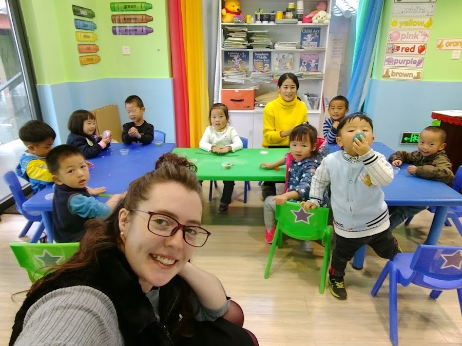 Alana, teacher in China