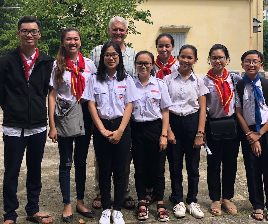 Richard, Teaching Teens in Thailand