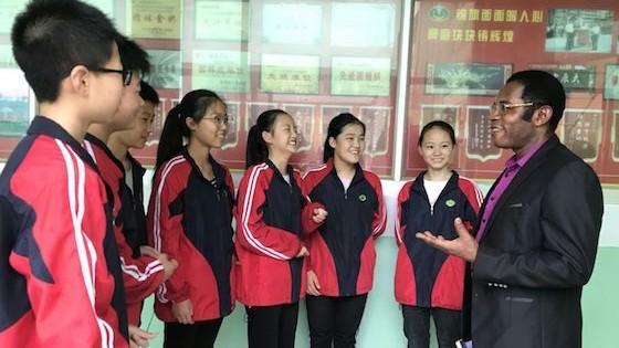 William, Teaching Teens ESL in China