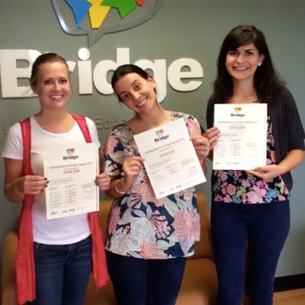 TEFL Certified Teachers with certificates