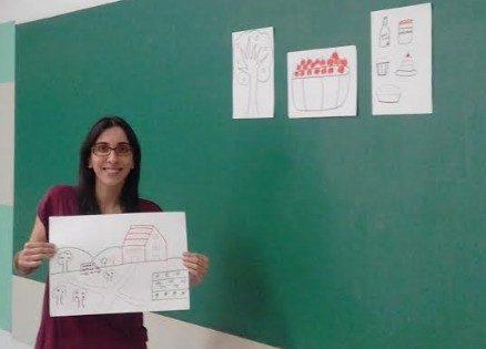 Juliana, English teacher in Brazil