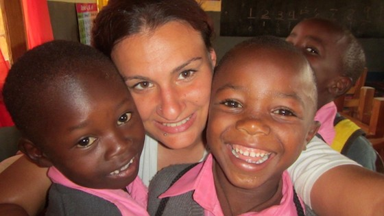 Lindsay, Teaching Young Learners in Tanzania