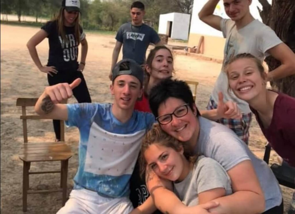 Veronica Curzi's students in Argentina