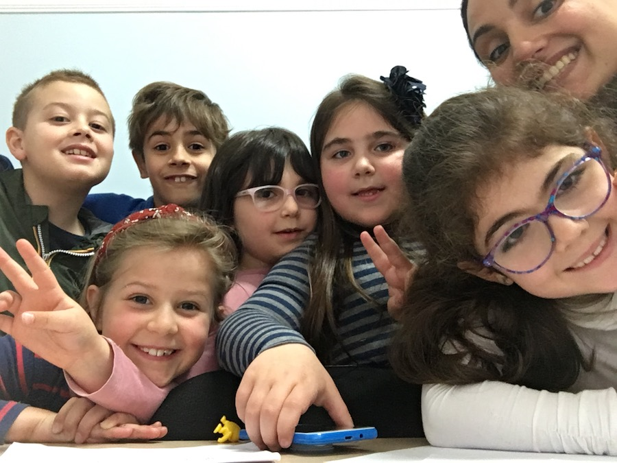 Rebecca, English Teacher in Italy