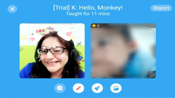 Melissa Edmons teaching English online