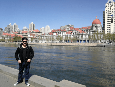 Renzo, Chilean Teacher in China
