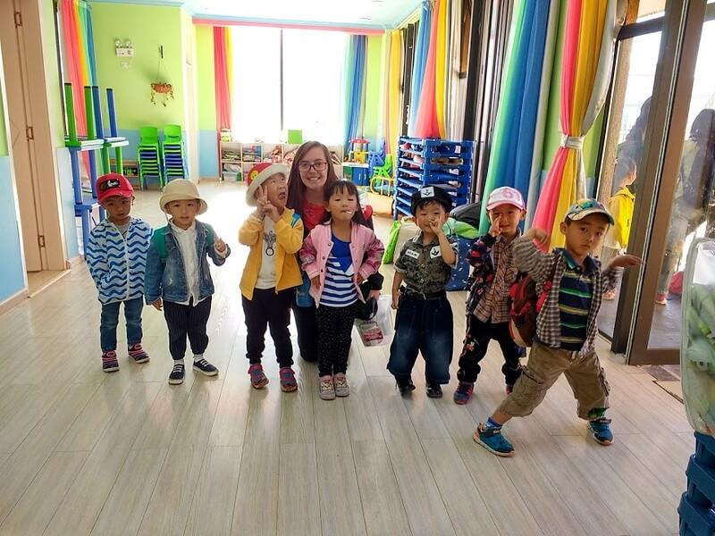 Bridge graduate, Lana, teaches English at a school in China