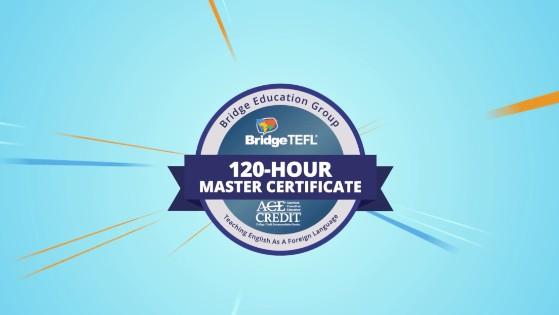 Bridge Master TEFL/TESOL Certificate Digital Badge
