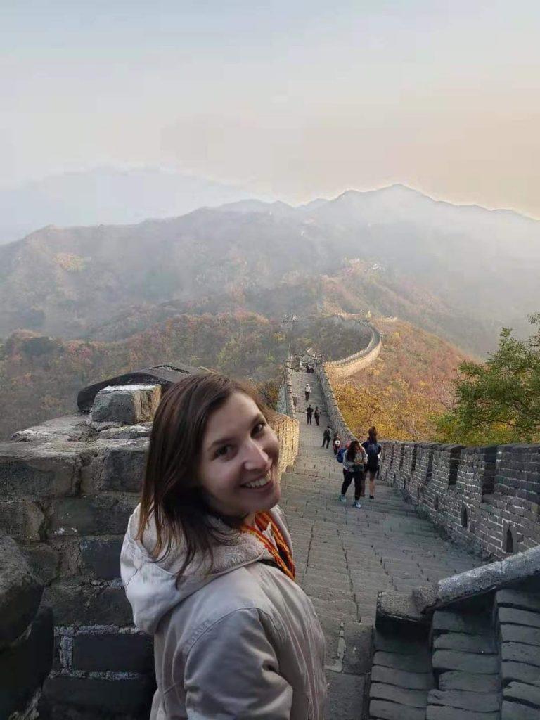 Ana Flavia, Teacher from Brazil, in China