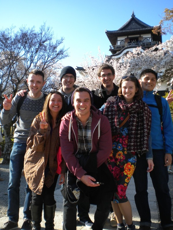 Meredith, teaching kids and adults in Japan