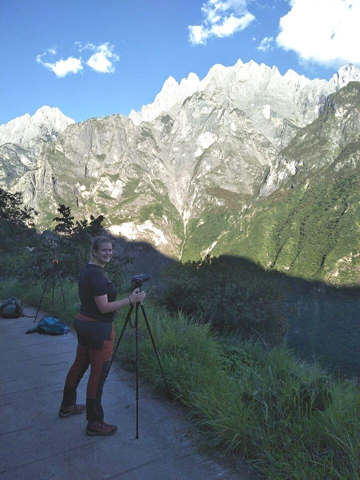 Coleen, teacher in China, pursues her hobby, photography