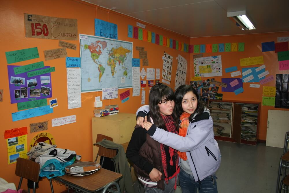 EFL Students in Patagonia, Chile