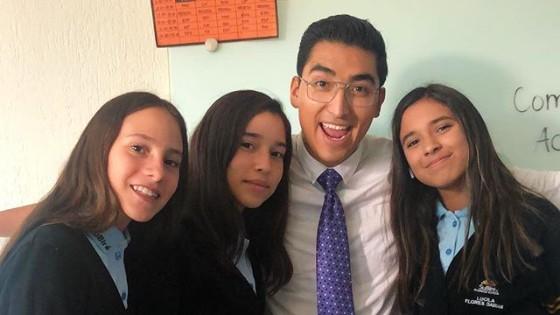 Bridge grade, Omar Cholico Delgado, Mexican English teacher