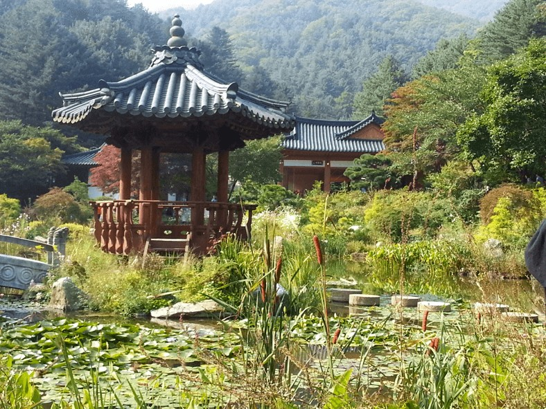 A traditional pagodas in South Korea