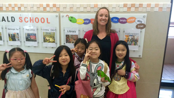 TEFL teacher in South Korea.