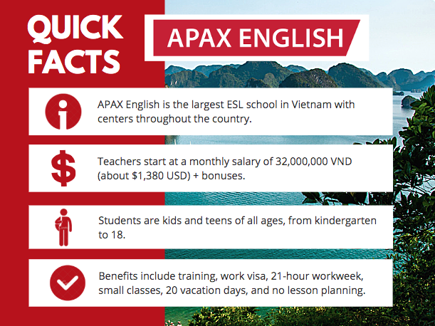 APAX English at a Glance