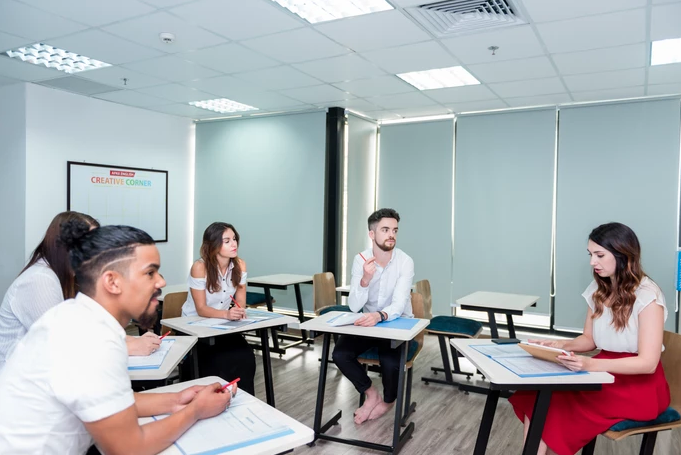 Teaching IELTS to a small group of students