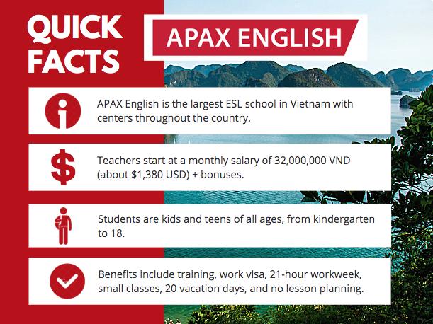 APAX English at a Glance