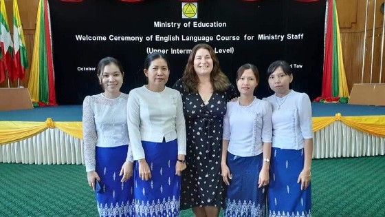 Interview With Loren A Graduate Of Sit S Ma Tesol Program Now An English Language Fellow In Myanmar Bridgeuniverse