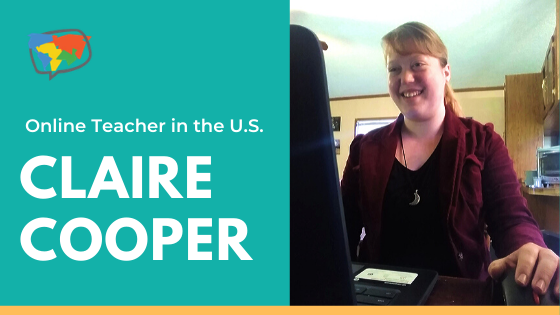 Claire, Teaching English Online in the U.S.
