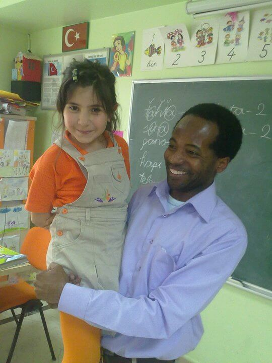 Hassan, From Tanzania, Teaching in Turkey