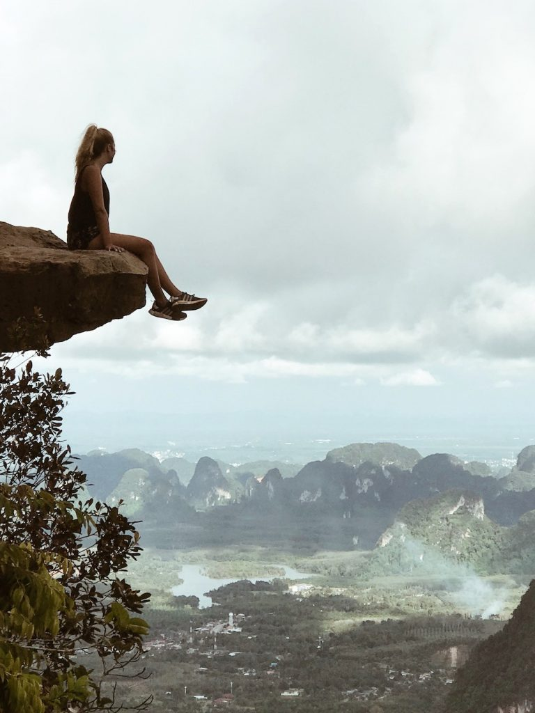 Kelsea Day - Krabi, Thailand - I hiked 5 hours straight for this view! And it was worth every step! On top of the world!