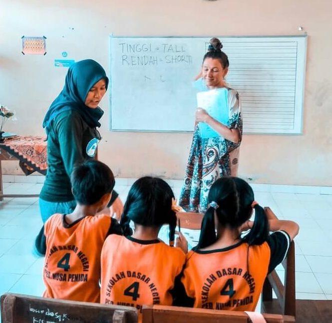ESL school lessons in Indonesia