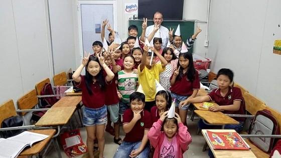 English teacher abroad