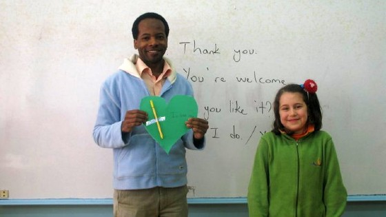 Hassan, from Tanzania, Teacher in Turkey
