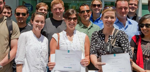 teachers holding IDELT certificates