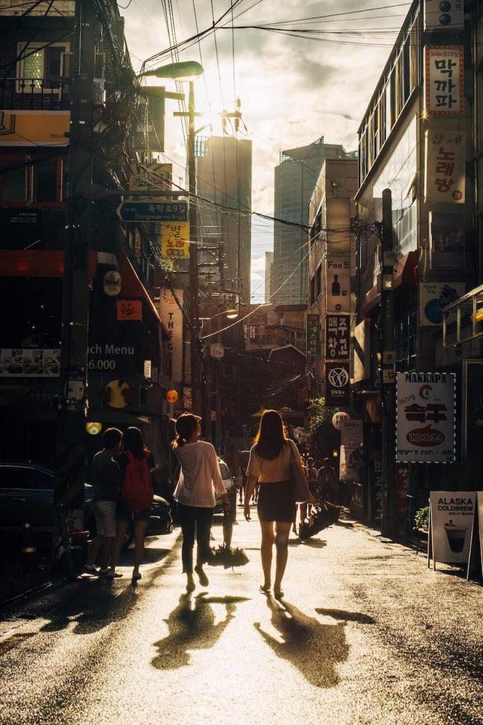 Seoul street view