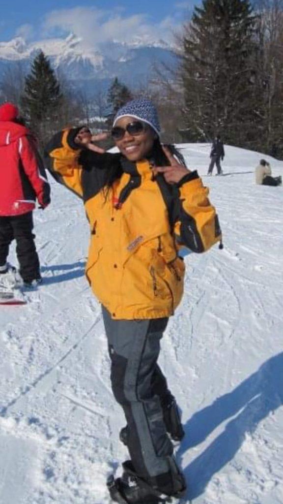 skiing in Slovenia