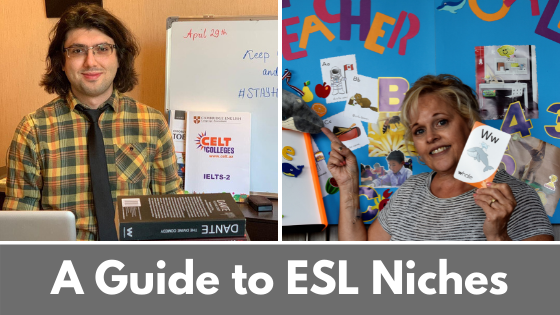 Finding Your Niche for Teaching English Online