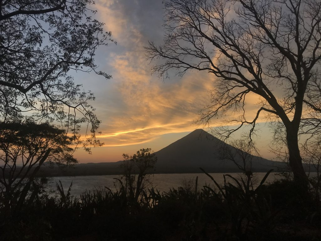 One of the stunning views on the island of Ometepe, Nicaragua, where Allie currently lives