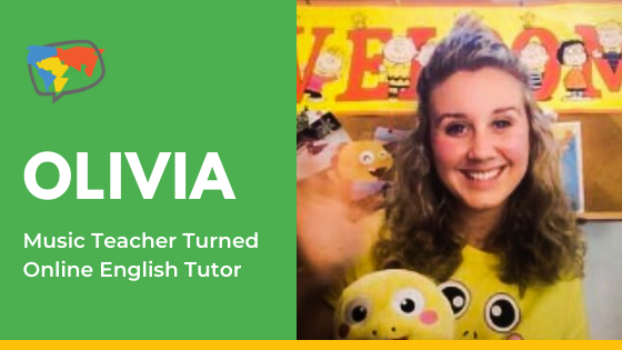Olivia, Online Teacher with VIPKid