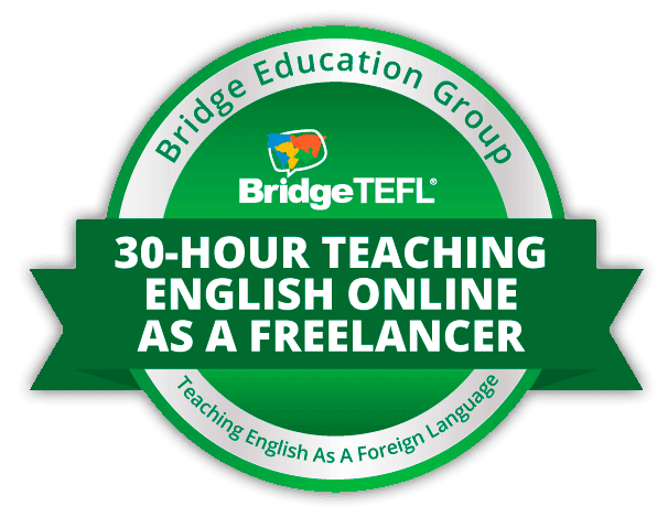Teach English as a Freelancer digital badge